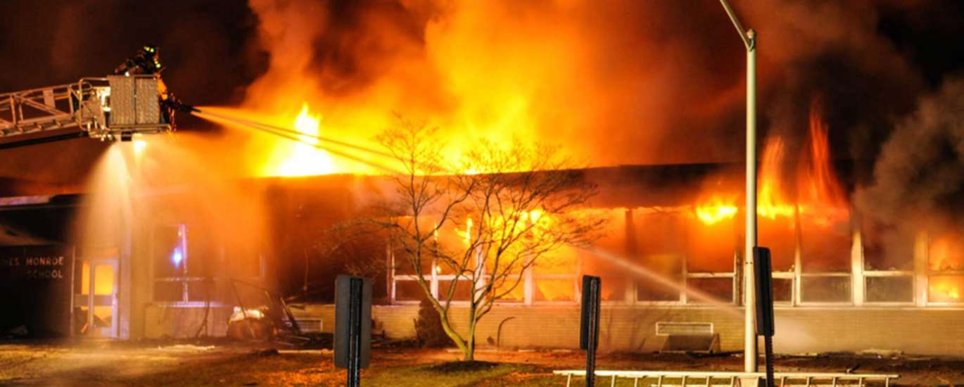 Government & Organization Fire Damage Insurance Claims